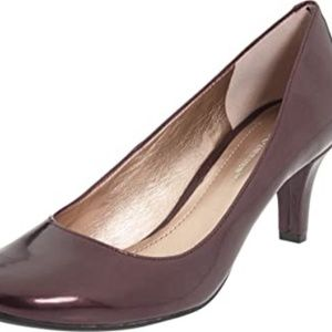 BCBGeneration NEW Deep Red Gumby Patent Heels 10 M